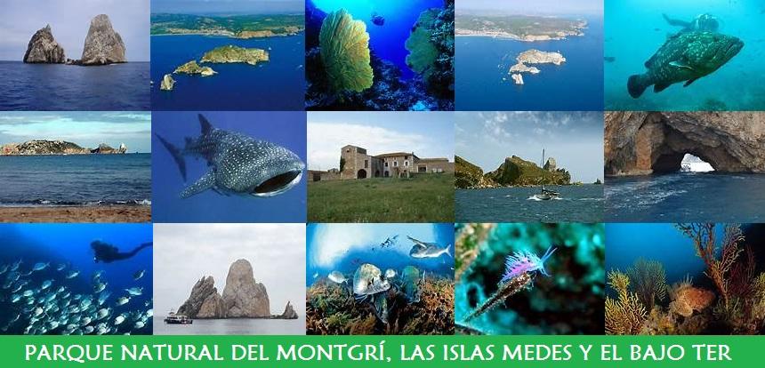 Parque Natural del Montgrí, Islas Medes y Bajo Ter